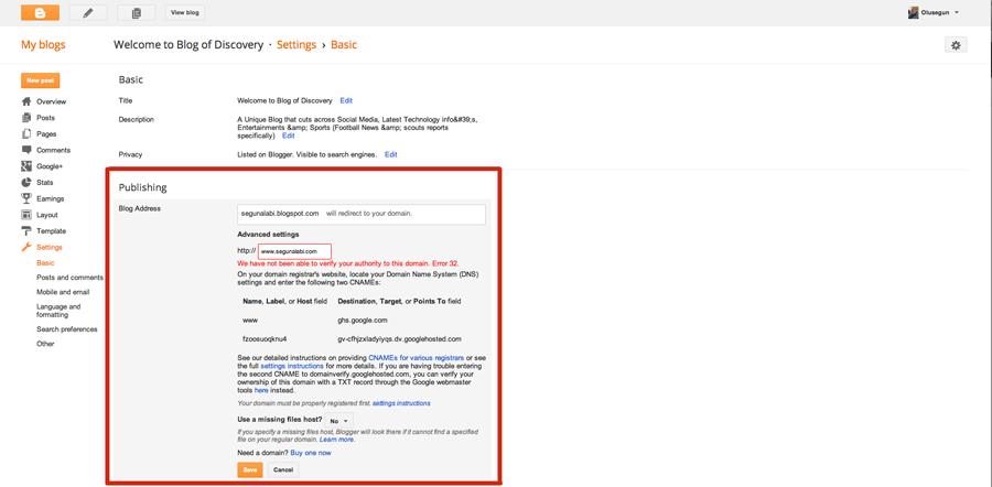 how to create a cname google